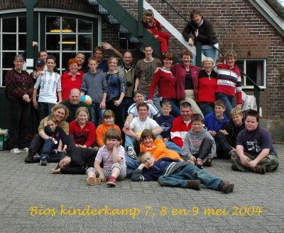 Kinderweekend 2004